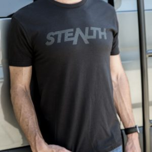 The Classic Stealth Mode T-shirt.