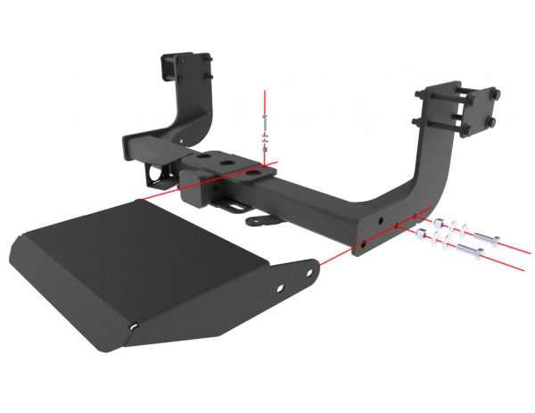 Make climbing into your Sprinter a bit easier with the Updog Rear Step.