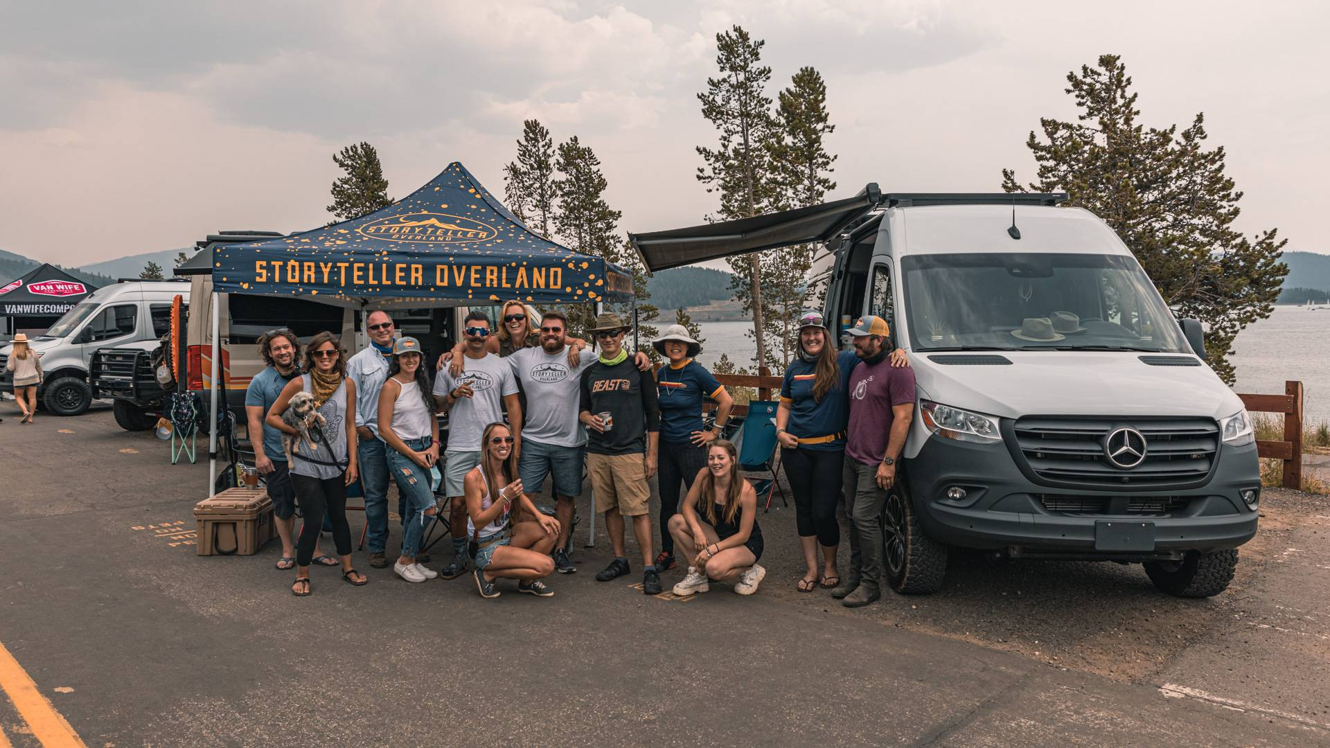 An Adventure Van Expo in Smokey Denver